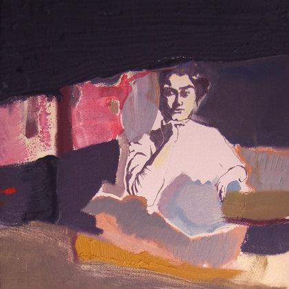 Edith Stein, 40 x 30 cm, Mischtechnik auf Leinwand, 2007