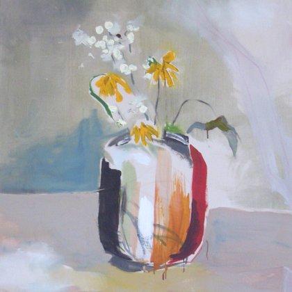 Blumenstrauß, 135 x 120 cm, Acryl auf Leinwand, 2008, verkauft