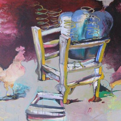 MEA CULPA, 135 x 150 cm, Acryl auf LW, 2011